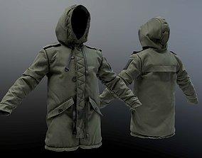 3D model Parka Coat