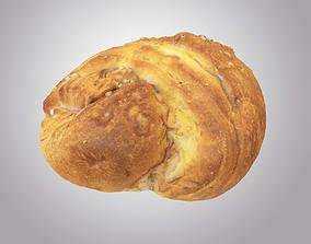 Photorealistic Sourdough bread 3D model