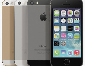 Apple iPhone 5S 3D asset realtime
