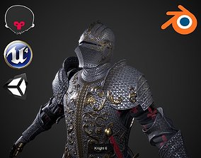 3D model Knights collection