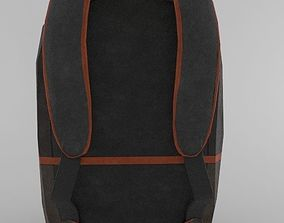 case 3D model game-ready backpack