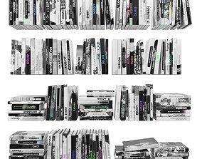 3D asset Books 150 pieces 2-6-2