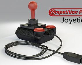 Kempston Competition Pro Joystick 3D asset