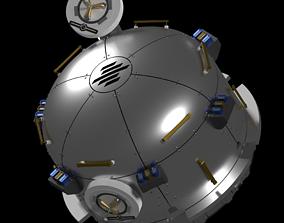 NanoRacks Bishop airlock 3D model