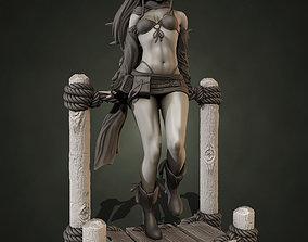 3D printable model Rikku Final Fantasy - 2 in 1