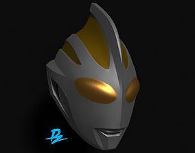 Mask Ultraman Gaia 3D printable model