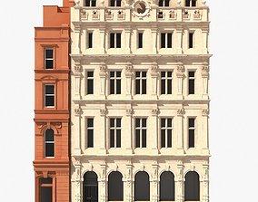 plaster London Building Facade 3D