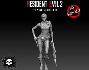 3D printable model Resident Evil 2 Claire Redfield