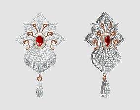 Indian Jewellery Design rose 3D print model