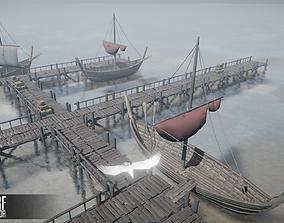 3D asset Wharf Constructor