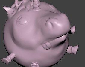 jewelry Unicorn Pentant 3D print model