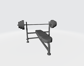 3D printable model Press bench
