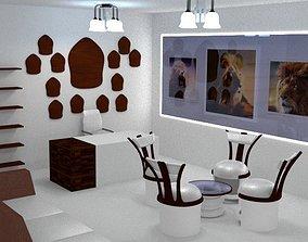3D LTS Office Interior Setting