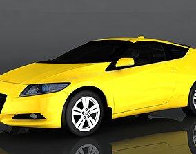 Honda CR-Z 3D model realtime