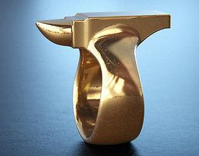 Anvil Ring 3D printable model