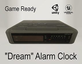 Dream Alarm Clock 3D asset
