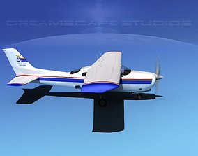 3D Cessna 210 Civil Air Patrol