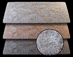 Rectangular carpet 3D model