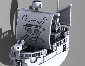 3D printable model Going meery ship one piece