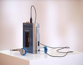 3D model Music cassette player HG2
