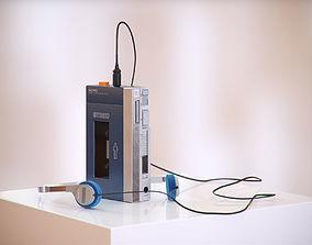 3D model Music cassette player