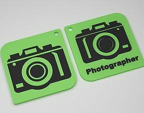 3D print model Camera Keychain