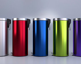 3D model Pedal Bin Collection