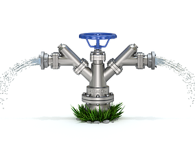 fittings Hydrant 3D model