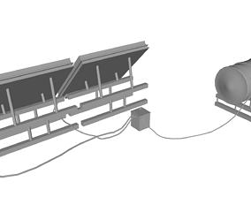 Sonar Panel 3D asset