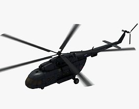 Mi17 Hip Helicopter 3D