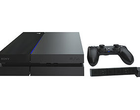 3D Sony Playstation 4