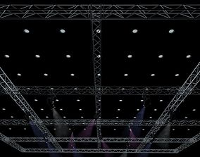 3D Big Square Truss-Stage Lights