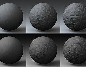 Displacement Landscape Shader 019 3D model
