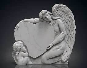 3D printable model Angel monuments