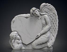 3D printable model Angel monuments