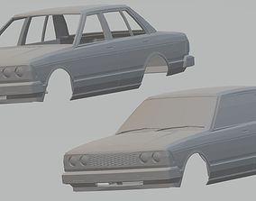 Nissan Bluebird Printable Body Car