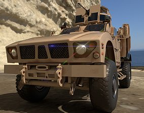 American Military Vehicle - Game Ready 3D model