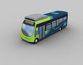 Arriva Electric Bus 3D asset