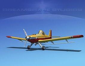 EMB-202A Ipanema V04 3D model