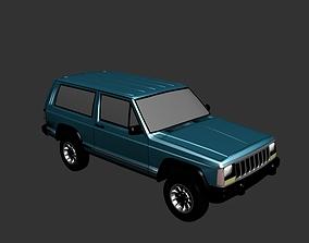Jeep Grand Cherokee 1990 3D print model
