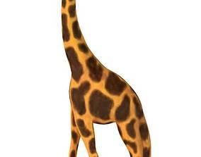 Plastic Model Giraffe