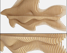 3D model parametric wall decor