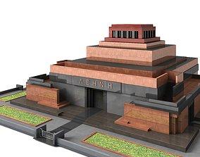 3D lenin Lenin Mausoleum