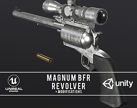 3D model Magnum Research BFR Revolver
