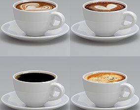 Coffee Mug Sat 3D model
