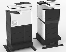 Office printer HP PageWide Enterprise 3D model