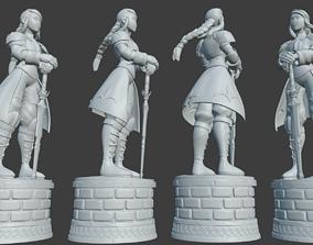 3D print model Agrias- Holy Knight- Final Fantasy Tatics