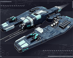 Stellar Patrol 3D asset