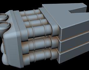 star Starship part 35 3D model