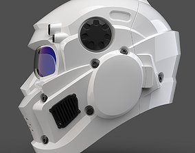 cosplay CAD-friendly Helmet model H1V1